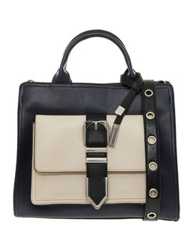 Black & Cream Elisabeth Tote Bag by Christian Lacroix