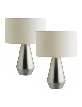 Habitat Maya Set Of 2 Touch Base Table Lamps by Argos