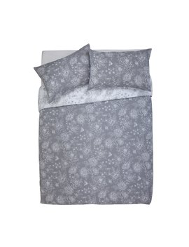 Argos Home Grace Grey Bedding Set   Kingsize by Argos