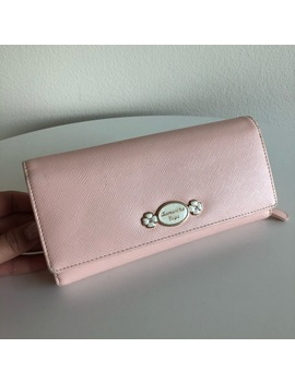 Samantha Vegas Pink Leather Wallet by Samantha Thavasa