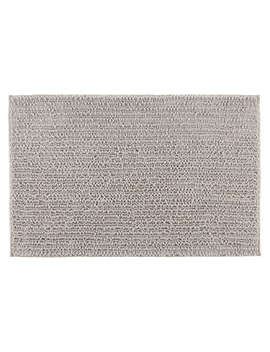 House By John Lewis Quick Dry Bath Mat, Silver Grey by House By John Lewis