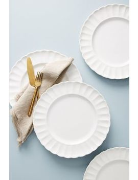 Daisy Dinner Plates, Set Of 4 by Gather By Anthropologie