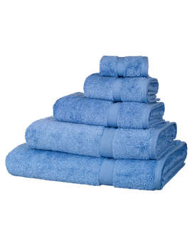 John Lewis Egyptian Cotton Towels, Bluebell by John Lewis