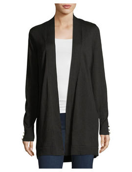 Pearlscent Button Cardigan by Verve