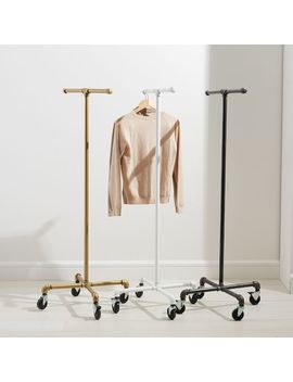 Monroe Trades Mobile Clothing Rack by West Elm