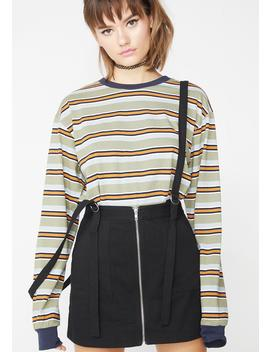 Grade A Suspender Skirt by Wild Honey