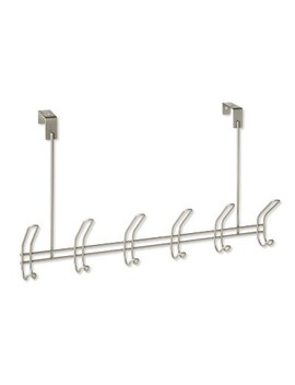 6 Over The Door Hook Silver   Threshold™ by Shop All Threshold™