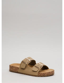 Such A Stud Platform Slide Sandals by Go Jane