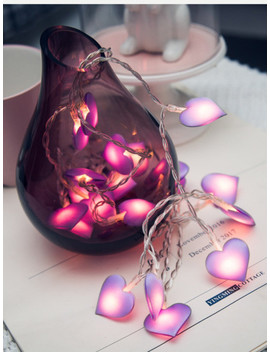 Heart Bulb 20pcs String Light by Sheinside