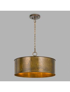Gold Patina 3 Light Winta Pendant by World Market