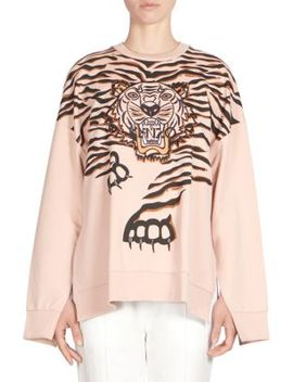 Tiger Claw Graphic Sweatshirt by Kenzo