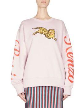 Jumping Tiger Sweatshirt by Kenzo