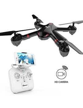 Wifi Fpv Version Drocon Cyclone X708 W Drone With Hd Camera For Beginners Kids Training Quadcopter With Headless Mode One Key Return (X708 W Wifi Fpv Version) by Drocon