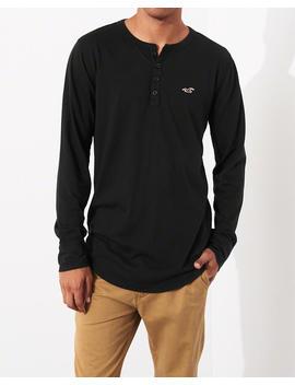 Henley T Shirt by Hollister