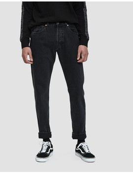 501 Levi's Original Denim In Black Stonewash by Levi's Made & Crafted