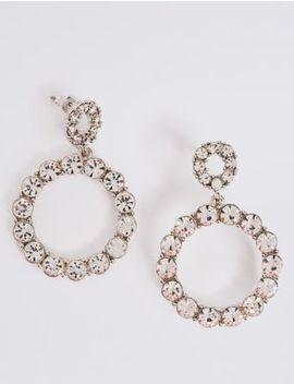Mini Bling Hoop Earrings by Marks & Spencer