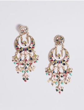 Opulent Charm Drop Earrings by Marks & Spencer