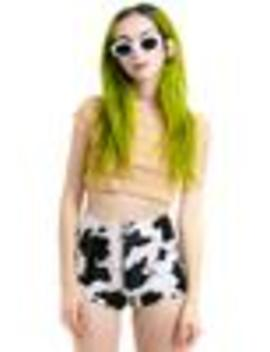 Pre Order: Farmer's Daughter Zip Up Shorts by Tunnel Vision