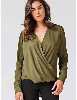 Asymmetric Hem Top by Guess