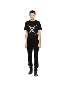 Black Stretch Jeans by Givenchy