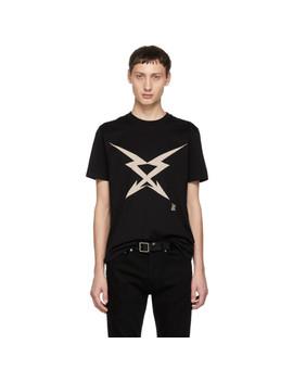 Black Cross Arrow T Shirt by Givenchy