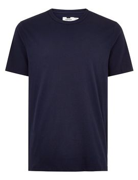 Navy Classic Crew Neck T Shirt by Topman
