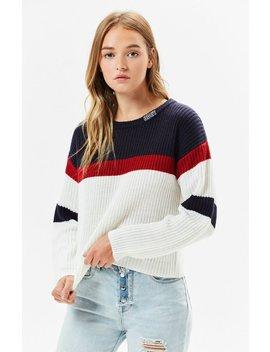 Allie Striped Sweater by Obey