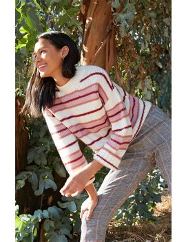 Rewind Crew Neck Sweater by La Hearts