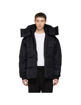 Reversible Black Padded Jacket by Y 3