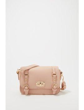 Dual Buckle Crossbody Bag by Urban Planet