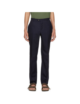 Navy Remi Chino Trousers by Éditions M.R