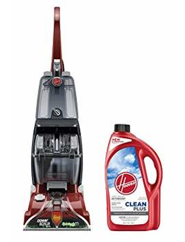 Hoover Power Scrub Deluxe Carpet Washer With Cleanplus 2 X 64oz Carpet Cleaner And Deodorizer by Hoover