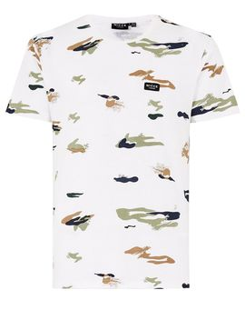 Nicce White Camouflage T Shirt by Topman