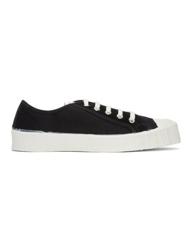 Black Special Low Twill Ws Sneakers by Spalwart