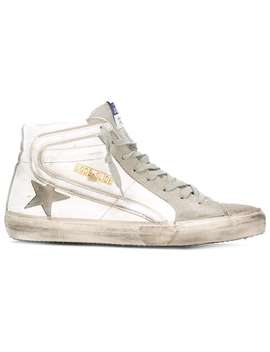 Golden Goose Deluxe Brand Slide Hi Top Sneakershome Men Golden Goose Deluxe Brand Shoes Hi Tops by Golden Goose Deluxe Brand