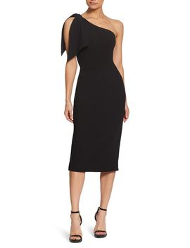 Tiffany One Shoulder Midi Dress by Dress The Population