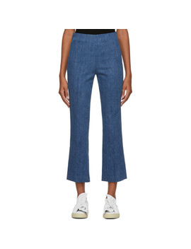 Blue Hina Denim Trousers by Rag & Bone