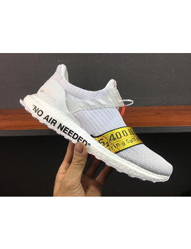Custom Shoes Off White Ultra Boost Adidas 3.0 Uncaged by Round Two Sneakers