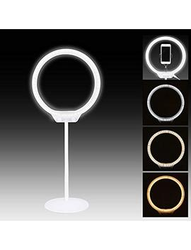 "Zomei 10"" Led Ring Light Dimmable 7.5 W 3200 5500 K Desktop Usb Light On Camera Light You Tube Videos, Beauty, Portrait Photography, Video Chat, Live Streaming,Etc by Yessbon"