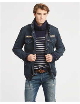Denim Field Jacket by Ralph Lauren