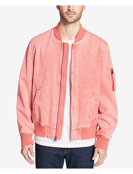 Men's Acid Wash Bomber Jacket by Levi's