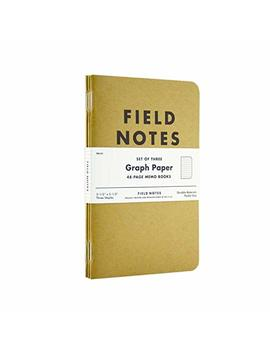 Field Notes Kraft Graph 3 Pack by Amazon
