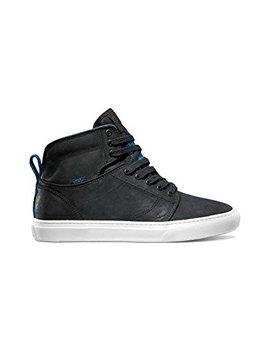 Vans M Alomar Tribes Black Blue Leather Men Sneakers Shoes by Vans