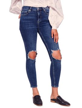 We The Free By Free People Ripped High Waist Ankle Skinny Jeans by Free People