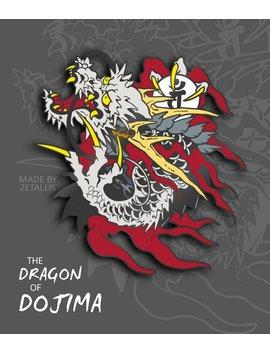 Yk Dragon Of Dojima [Enamel Pin] by Zetallis