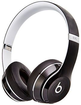 Beats Solo2 On Ear Wired Headphones Luxe Edition   Ml9 E2 Am/A   Black by Beats