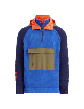Hi Tech Hooded Sweater by Ralph Lauren