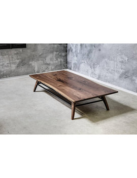 "Coffee Table ""Samurai""   Solid Wood   Walnut by Berlin Moebel Design"