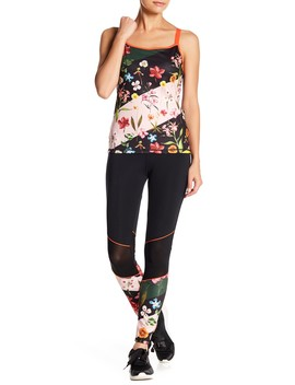 Hampton Floral Print Leggings by Ted Baker London