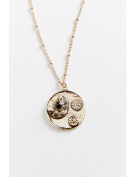 Relic Coin Pendant Necklace by Urban Outfitters
